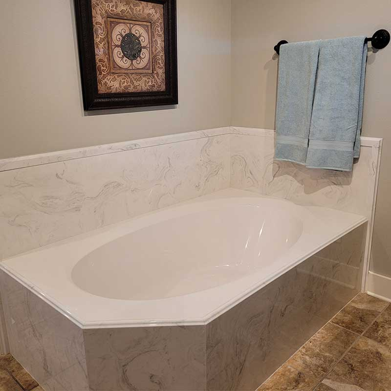 cultured marble countertop