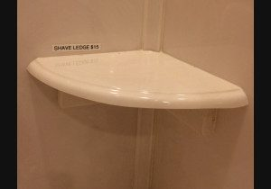 Shower Accessory Shaving Ledge