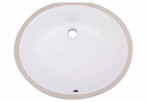 Undermount Oval Bathroom sink