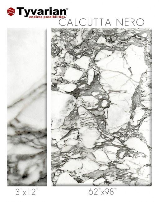 tyvarian calcutta nero color sample