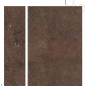 tyvarian rustic brown color sample